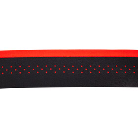 Cinelli Fluo Cinta de manillar, negro/rojo